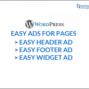 Woocommerce easy ads