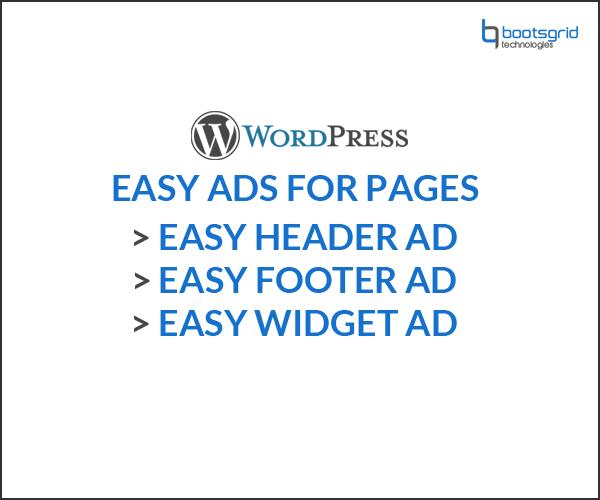 Woocommerce easy ads