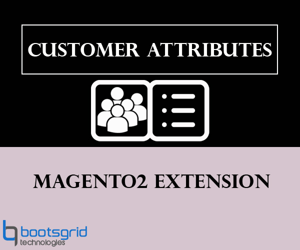 Bootsgrid Magento2 Customer Attributes