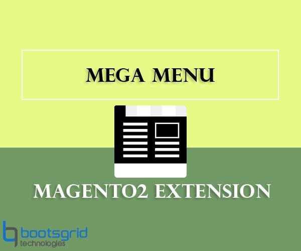 Bootsgrid Magento2 Megamenu