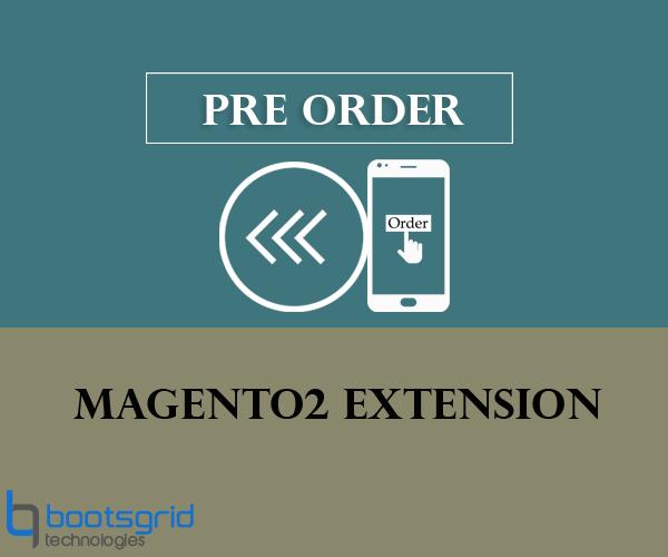 Bootsgrid Magento2 Pre Order