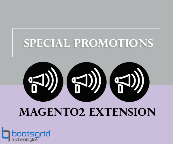 Bootsgrid Magento2 Special Promotions