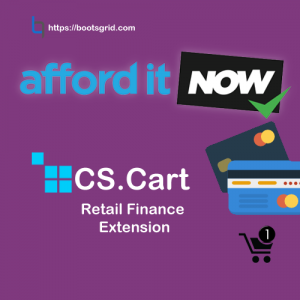 CS-Cart AfforditNOW Retail Finance