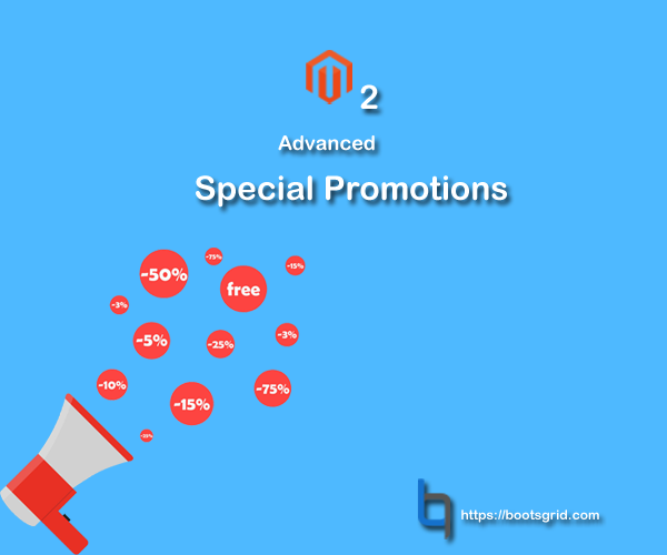 Magento 2 Special Promotion