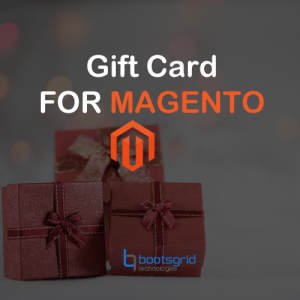 Magento gift card extension