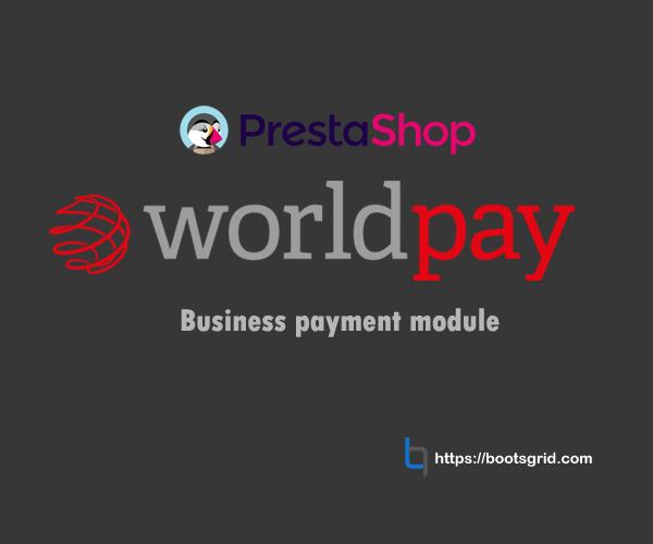 Prestashop WorldPay Business Module