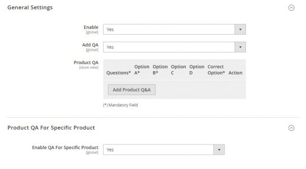 product question and answer magento2