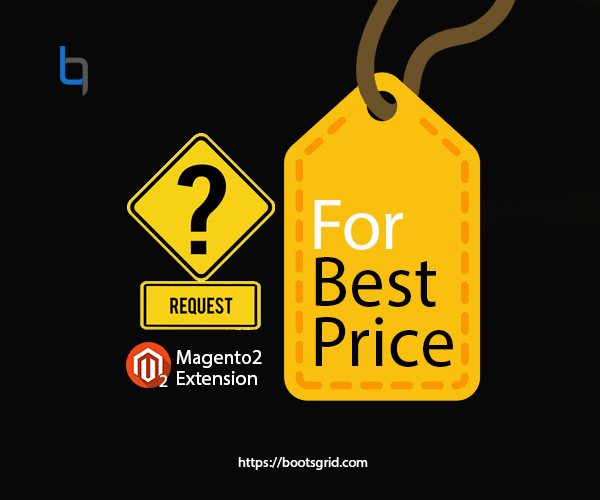 Magento 2 Request for Best Price